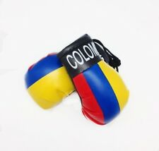 COLOMBIA MINIATURE BOXING GLOVES (PAIR)WORLD CUP 2018 $7.99