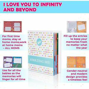 Baby Books for Baby Shower Gift - First Year Memory Book for Boys or Girls