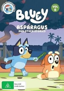 Bluey Asparagus And Other Stories (DVD, 2020)