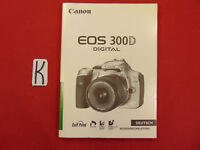 Bedienungsanleitung Canon Digital 300D Gebrauchsanleitung