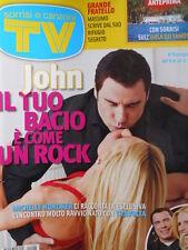 TV Sorrisi e Canzoni n°6 2010 John Travolta Michelle Hunziker  [D22]