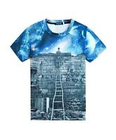 Clear Your Mind T-Shirt (all over printed universe stars t shirt)