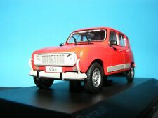 Renault 4 GTL Clan in Red with grey interior  Whitebox Product in 1:43rd. Scale