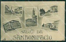 Verona San Bonifacio Saluti da cartolina QK7461