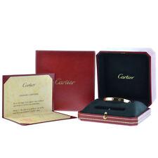 Cartier 18k Yellow Gold LOVE Bracelet Sz 16 New Style