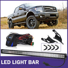 For 2009-2014 Ford F150 50inch LED Work Light Bar+Windshield Mounting Brackets