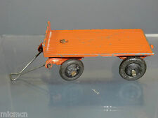 VINTAGE DINKY TOYS MODEL No.25g TRAILER  (Orange version )  WIRE HOOK