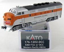 Kato USA N F3A w//DCC  WP #8024 KAT1761202DCC