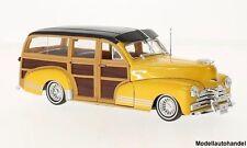 Chevrolet Fleetmaster 1948 gold /Holzoptik - 1:24 WELLY