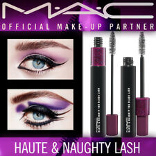 100% Authentic NEW Mac Haute & Naughty Double Effect Black Mascara  in Box