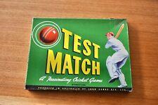 Vintage TEST MATCH CRICKET 1960s Board Game JOHN SANDS Australia
