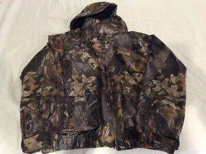 scentblocker Plus hunting jacket size medium men's mossyoak breakup