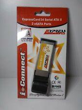 Ppa Int'l ExpressCard/34 Serial Ata Ii 2 Port eSata