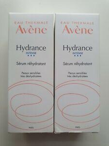 NEUF Lot de 2 crèmes sérum intense hydratant Hydrance 30ml marque Avène