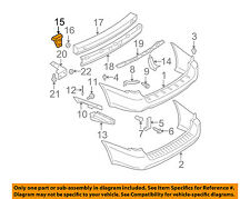 SUBARU OEM 05-09 Outback Rear Bumper-Stay Support Bracket Left 57714AG05A9P