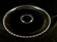 Imperial Glass Candlewick Cupped Edge Pastry / Cake / Torte - Plate / Platter