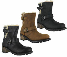 Women's 100% Leather Pull on Low Heel (0.5-1.5 in.) Boots