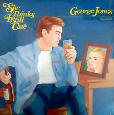 "GEORGE JONES ""She Thinks I Still Care"" BRAND NEW FACTORY SEALED 1982 LP RARE!!!"