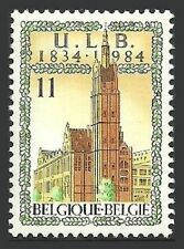 Architecture Single Belgian & Colonies Stamps