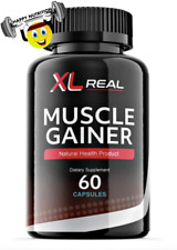 XL REAL MUSCLE GAINER Male Enhancement Formula 60ct Increase Gains! AUTHENTIC