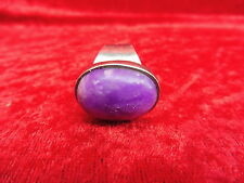 schöner, großer,alter Ring__925 Silber__mit schöner,großer,lila Stein_!