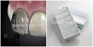 30Pcs Dental Mould Composite Resin Light Cure Anterior Front Teeth Fast Quick