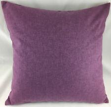 """Lavender Colour Plain LARGE 19.5"""" x 19.5"""" Evans Lichfield Cushion Cover"""