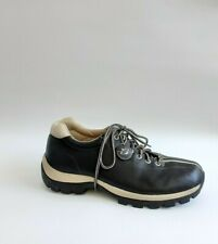 Buffalino Black Beige Genuine Leather Lace Up Men's Casual Shoes Rubber Sole 13