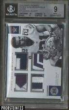 2016 Panini Encased Silver Ezekiel Elliott Cowboys RC Patch /10 BGS 9