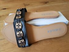 Milien black sandal size 8