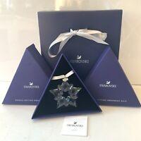 Authentic Swarovski Snowflake 2019 Ornament Christmas Star Boxed Collectors