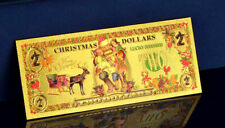 "★★ BILLET POLYMER  "" OR "" 2 DOLLARS NOEL / CHRISTMAS ● DESTOCKAGE ★"