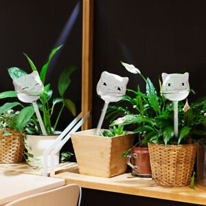 Cat-shaped Self Watering Bulbs Clear Glass Plant Water Plant Self-watering Tool