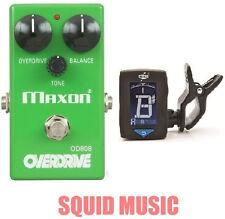Maxon OD808 Overdrive Vintage Reissue ( FREE DUNLOP GUITAR TUNER ) Tubescreamer