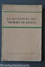 Medicina Patologia Splenica Patrassi Morbo Banti Cappelli Bologna 1942