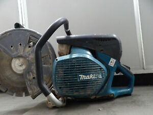 "Makita 14"" MM4 Concrete Saw EK7651H Gas 4‑Stroke Engine"