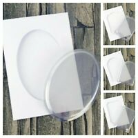 Hunkydory A5 Dimensional Card Making Kit Shaker Card Blanks With Aperture Domes