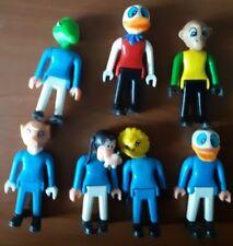 TG Airgam Boys Pyro Plast Toys DISNEY 7 figuras griegas muy Raras lot MIP D
