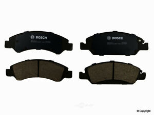 Disc Brake Pad Set-Bosch QuietCast Front WD Express 520 13630 462