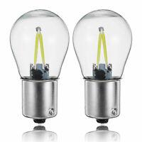 2X 1156 BA15S P21W COB Clignotant LED Blanche Ampoule De Rechange Inversée E7V8