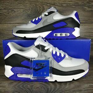 NikeAir Max 90 'Recraft Hyper Royal Blue' Sneakers (CD0881-102) Men's Sizes