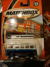 Matchbox MIP VW Van Transporter Volkswagen #12 of 75 Highway Hero 1:64 Mattel b1