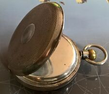 OMEGA Gents Pocket Watch. Swiss Hallmarks 935 SOLID SILVER. Early S/N from 1890s