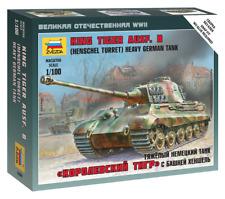 Panzer King Tiger Henschel-Military Small Sets - Zvezda 6204