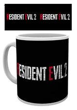 Resident Evil 2 Logo 10oz Drinking Mug Game Gaming