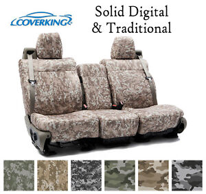 Coverking Custom Seat Covers Neosupreme Front Row - Solid Digital Camo