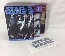 Original Star Wars Trilogy Box Set IV V VI 3 VHS Movies 1995 Digitally Mastered