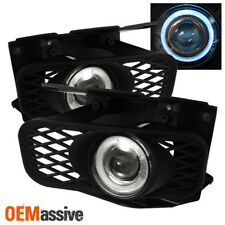 Fits 99-03 Ford F150 Expedition Halo Projector Fog Lights Lamps +Switch & Bulbs