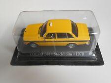 Car taxi volvo 144 stockholm sweden sweden model car 1/43 1:43 miniature
