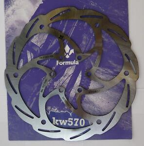 "Formula - One disk rotor CURA 160mm/6"" version 1-piece 6h FD54055-00 FD791601PN"